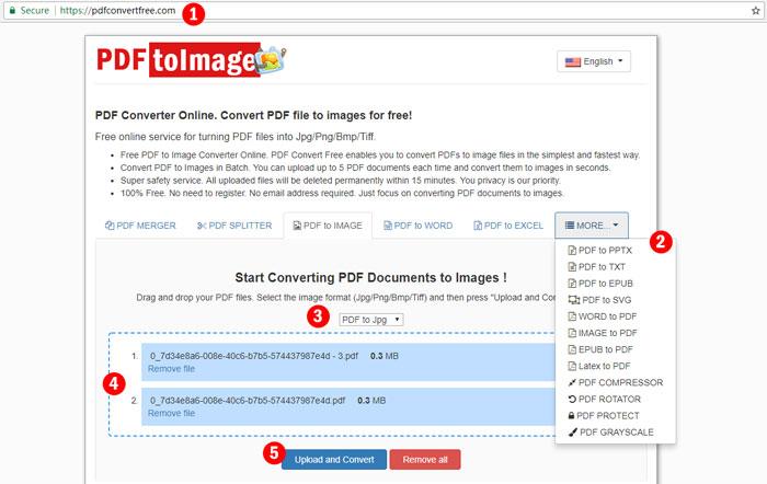 convert pdf to image png jpg