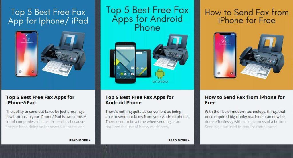 advantages of fax online