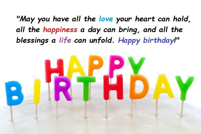 Many Happy Returns Of The Day For Happy Birthday