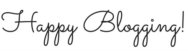 Happy Blogging image