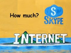 How much data does Skype use in an hour