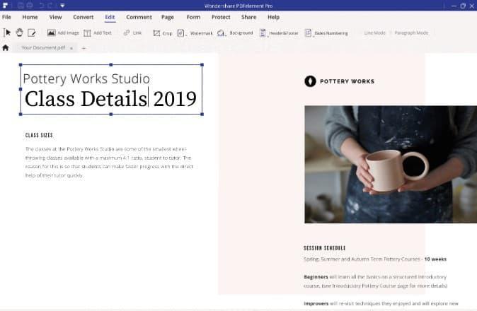 PDF File Editors for Windows