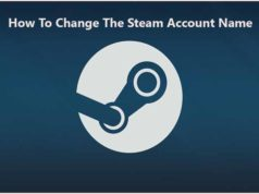 How To Change The Steam Account Name