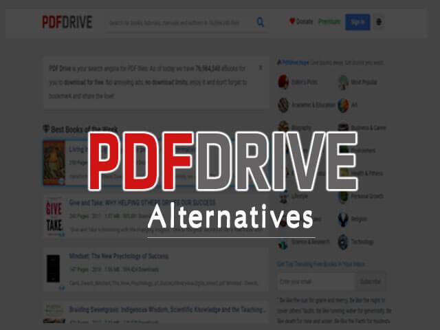 PDFdrive Alternatives